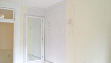 Building a DIY medicine cabinet.  We designed an oversized cabinet for our vintage-inspired bath