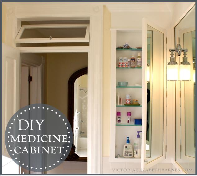 Best DIY bath remodel = DIY medicine cabinet. KP88