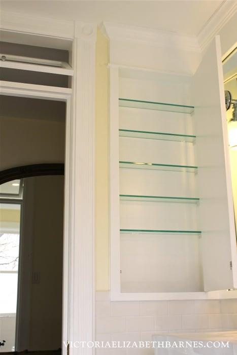 Diy Bath Remodel Diy Medicine Cabinet