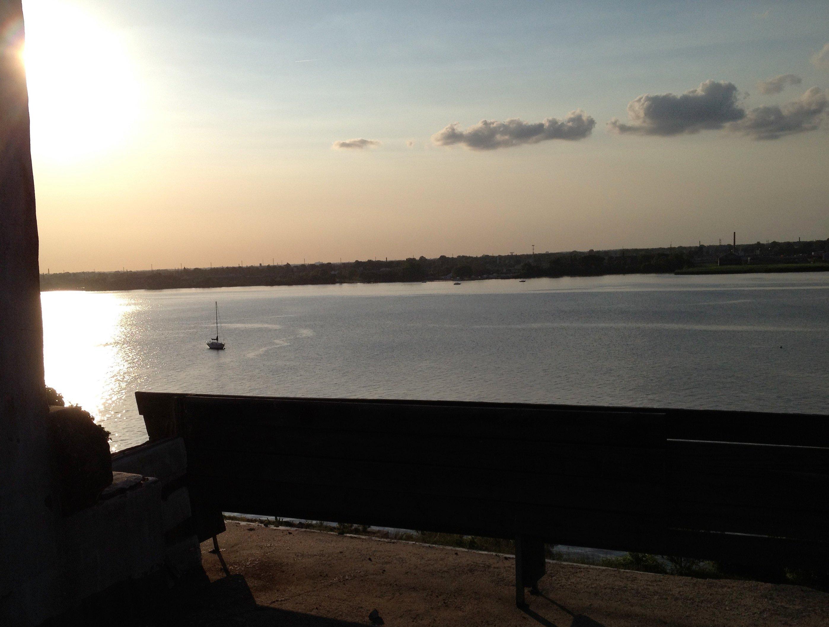 Delaware River Riverton Nj Biddle Mansion View From