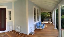 Wrap around Victorian front porch