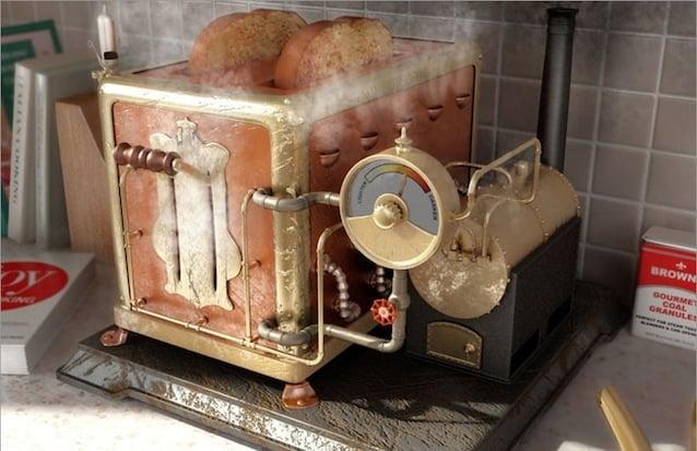Steampunk Kitchen Inspiration And Vintage Industrial Designs