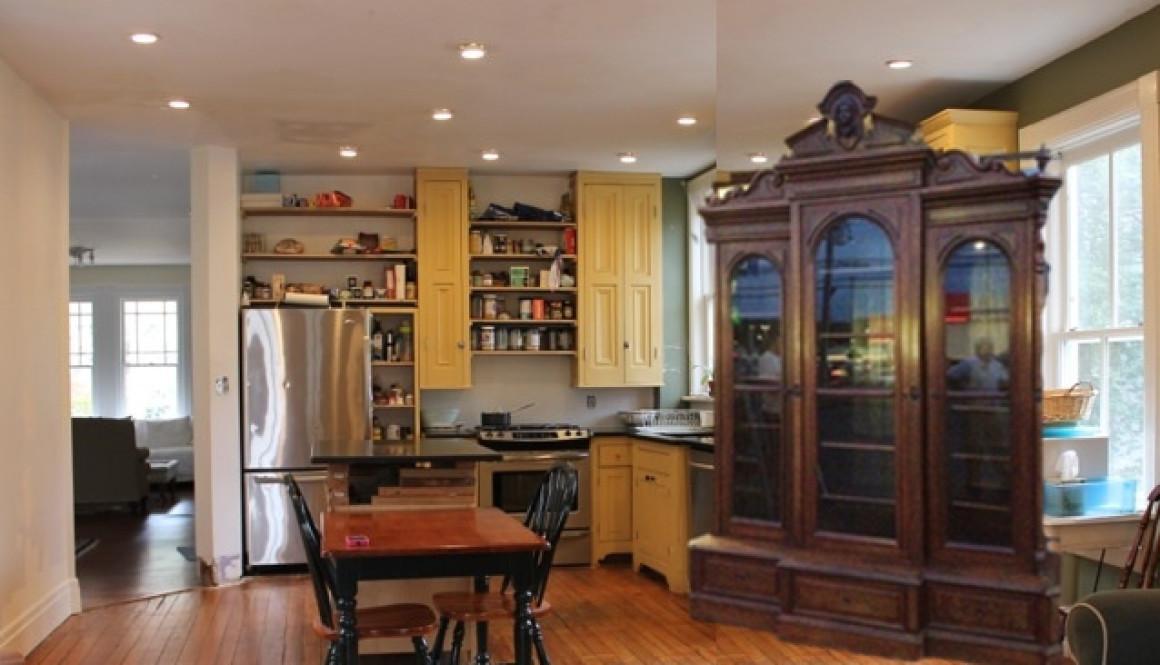 Kitchen Design Option 2 Repurposed Cabinetry Victoria