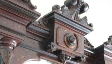 renaissance revival victorian pier mirror 8
