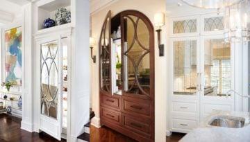 hiding the refrigerator diy kitchen remodel 13
