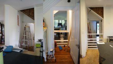 DIY floor-to-ceiling recessed shelving fb