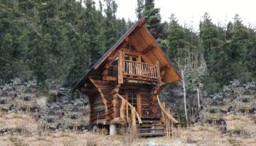 tiny houses log cabin taos ski valley