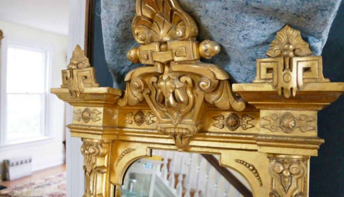 gold leaf renaissance revival pier mirror 4