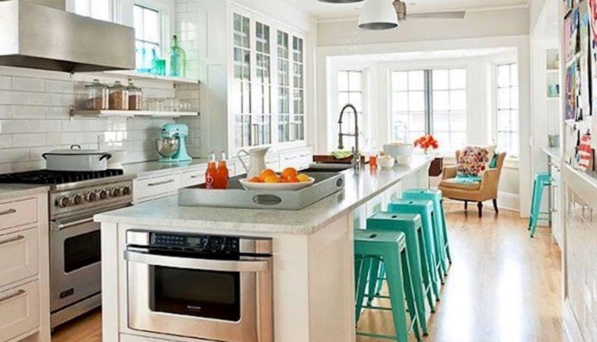 hidden-microwave-in kitchen-island 1