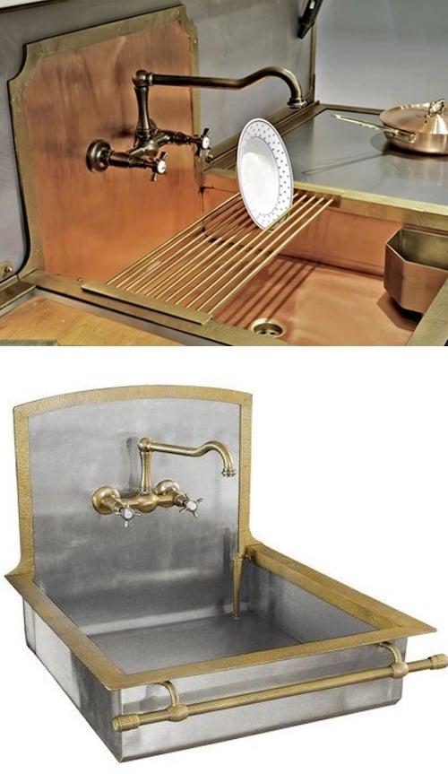 best custom kitchen sink design - Victoria Elizabeth Barnes